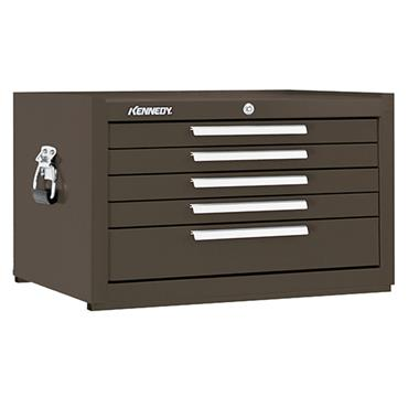 Kennedy 285 5-Drawer Brown Mechanic Tool Chest