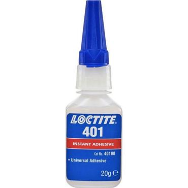 Loctite 401 Surface Insensitive Ultra Clear Instant Adhesives