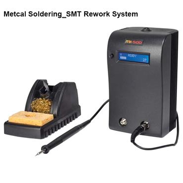 Metcal MX-500S Hand Soldering/SMT Rework System and Accessories