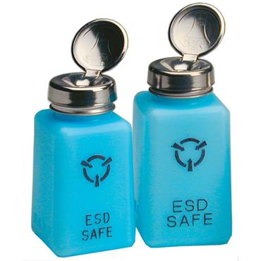 R & R ESD/ Clean Room Safe Static Dissipative Solvent Dispensers