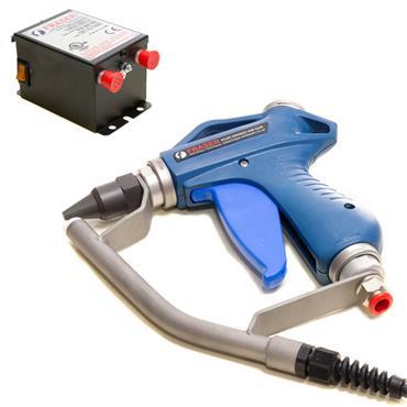 FRASER Ionising Air Gun & Power Unit