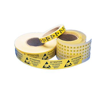 C-STAT Self Adhesive Anti-Static Labels