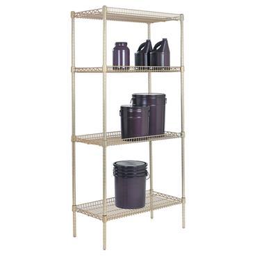 QUANTUM STORAGE Wire Inverted Shelves