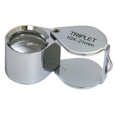 Citec 10X Folding Lens Magnifier