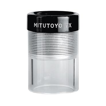 Mitutoyo 183-301 7X Magnification Clear Loupe Magnifier
