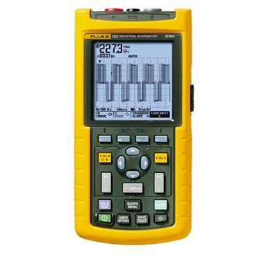 Fluke 123 Handheld Industrial ScopeMeter