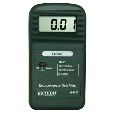 Extech Single Axis EMF/ELF Meter and Pouch Carrying Case