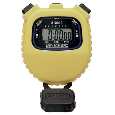 CITEC 810012 Water Resistant Digital Stopwatch
