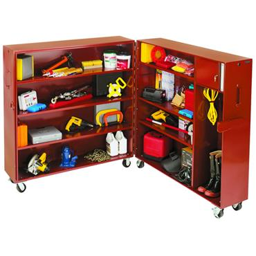 JOBOX 692990 Rolling Clam-Shell Cabinets