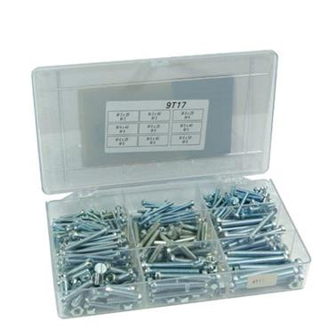FABORY Zinc Plated Machine Screw Set