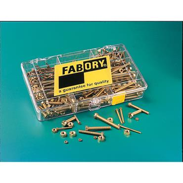 FABORY Brass Machine Screw Set