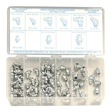 PRECISION BRAND Grease Fittings 95-Piece Set