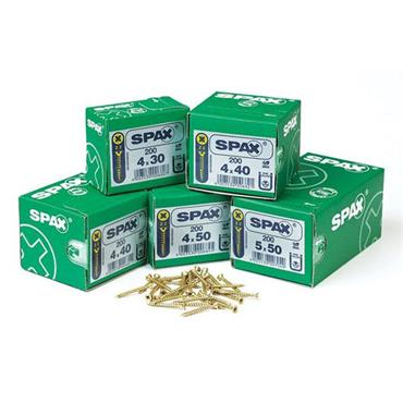 SPAX  Hardened Wood Screws