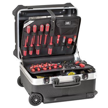 GT Line 470 x 347 x 390mm Black High Thickness Polyethylene Tool Trolley Case - Turtle 350