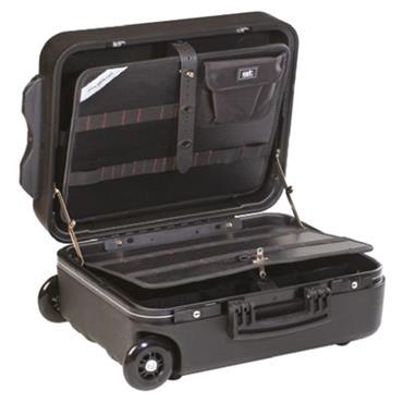 GT Line 453 x 185 x 345mm Black Double Wall Polyethylene Tool Case Trolley - Nm Wheels