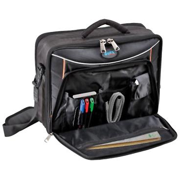 GT Line 410 x 140 x 330mm Black Padded Laptop Bag - HAND BASIC