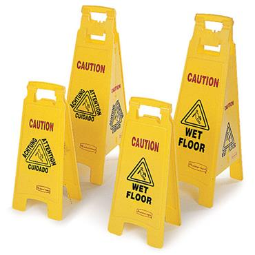 RUBBERMAID  Floor Signs