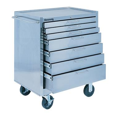 KENNEDY 28087 Stainless Steel Roller 7 Drawer Cabinets