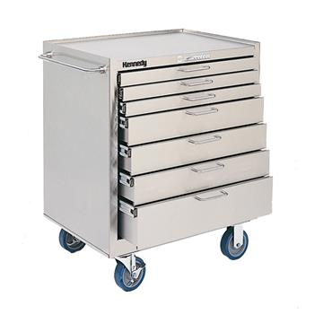 KENNEDY 28197 Stainless Steel Roller Cabinets