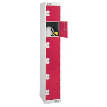 MORESECURE  Premium Steel Lockers Red