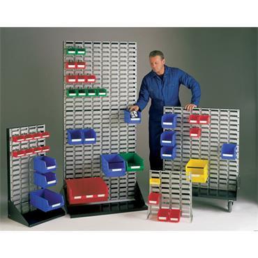 MOORSECURE Free Standing Rack for Storage Bins