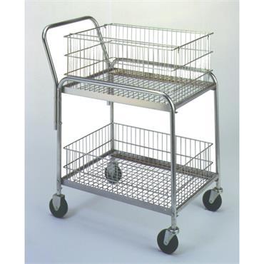 CITEC 272228 90.7kg Wire Office Cart