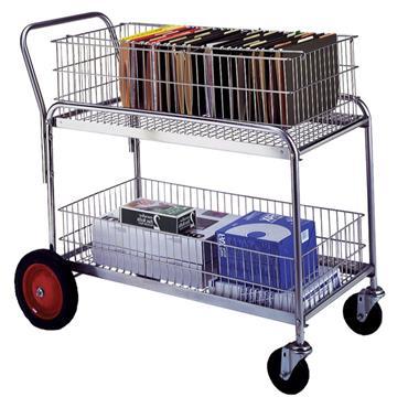 CITEC 272231 113kg Wire Office Cart
