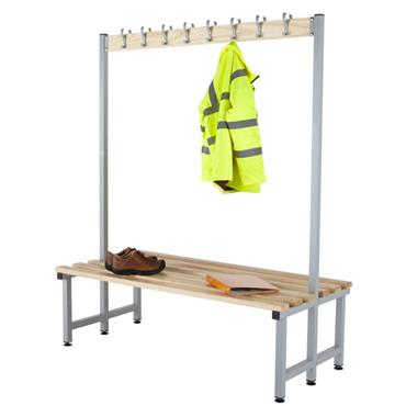 CITEC  Double Sided Cloakroom Bench