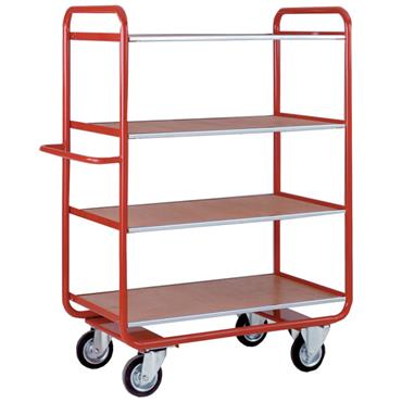 CITEC TT116 4-Shelf Deck Shelf Truck
