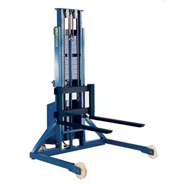 Advanced Handling Stacker with Straddle Chassis
