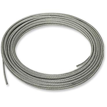 Elize Tinsley Galvanise Steel Wire Rope - Sold by the Meter