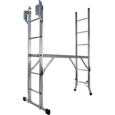 Werner 7101518 Combination Ladder 5-In-1 with Platform