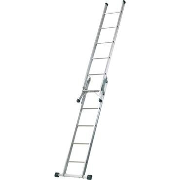 Werner 7101518 Combination Ladder 5-In-1 with Platform
