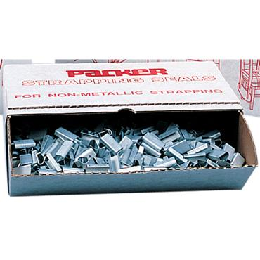 Packer Galvanised Strapping Seals for Polypropylene Strapping - 2000 per Pack