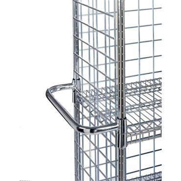 QSS Extended Utility Cart Chrome Handles