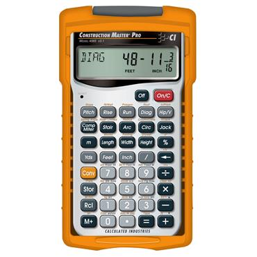Calculated Industries 4065 Advanced Construction Pro Math Calculator