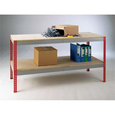 MOORSECURE  Workshop Benches ''Just Benches'' Workstation 750mm X 1800mm