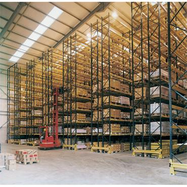 MORESECURE  Pallet Racking - 1200mm Deep