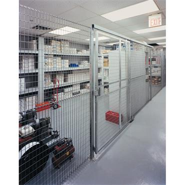 FOLDING GUARD  Galvanised Welded Wire Partitions