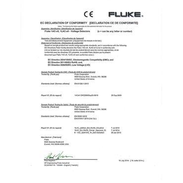 Fluke 1AC II VoltAlert Voltage Detector