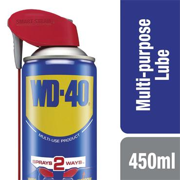 WD-40 Smart Straw 450ml Aerosol Lubricant