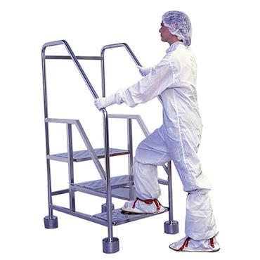 PALBAM CLASS 3-STLD 3 Step Cleanroom Stepladder