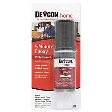 Devcon 20845 25ml 5 Minute Fast Drying Clear Epoxy Gel