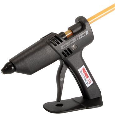 Packer 240 Volt Light Industrial Glue Gun with Hot Melt Glue Sticks