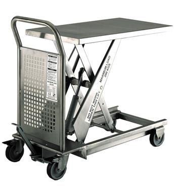 CITEC Stainless Steel Hydraulic Lift Table