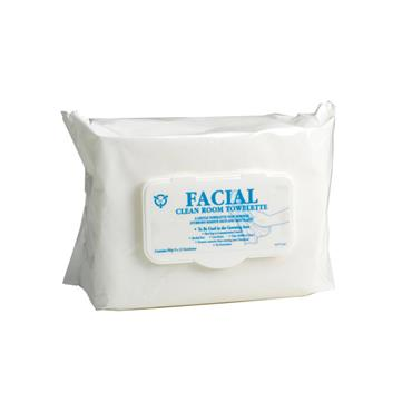R & R Clean Room Facial Towelettes