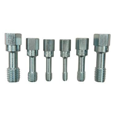 KASTAR 6 Piece SAE Coarse Thread Restorer Tap Set