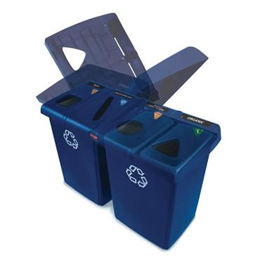 RUBBERMAID  1792372 Glutton® Recycling Centre
