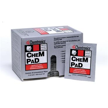 CHEMTRONICS Chempad Presaturated Wipe