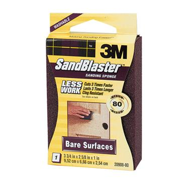 3M SandBlaster™ Bare  Surfaces Sanding Sponges